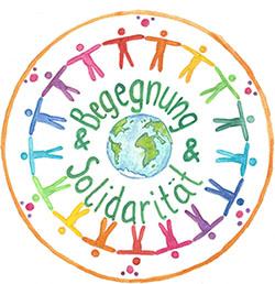 Logo Begegnung und Solidarität